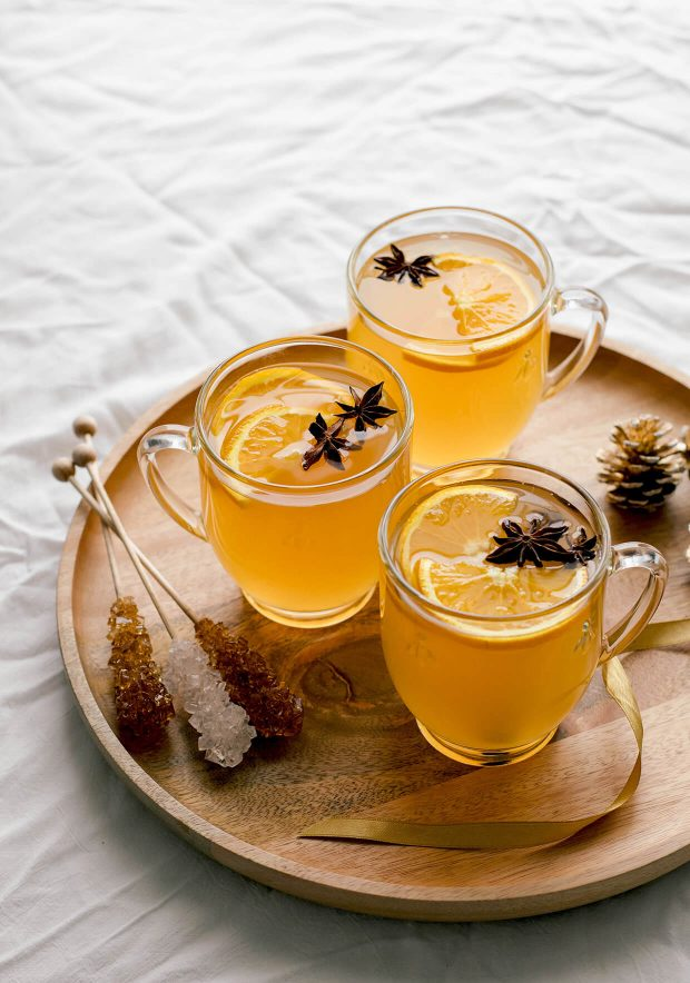easy mulled white wine