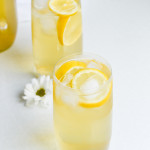 honey apricot chamomile iced tea