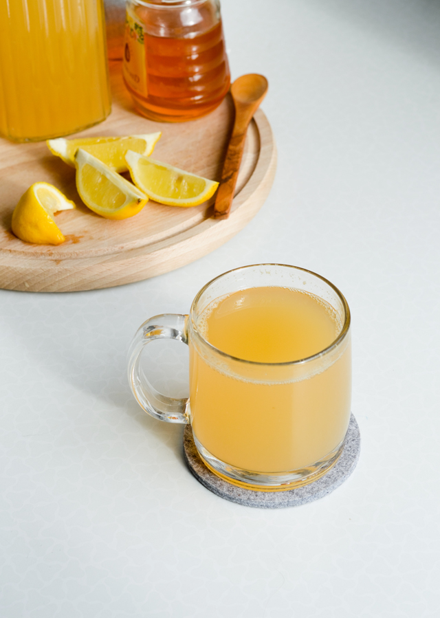 orange apple peel tea