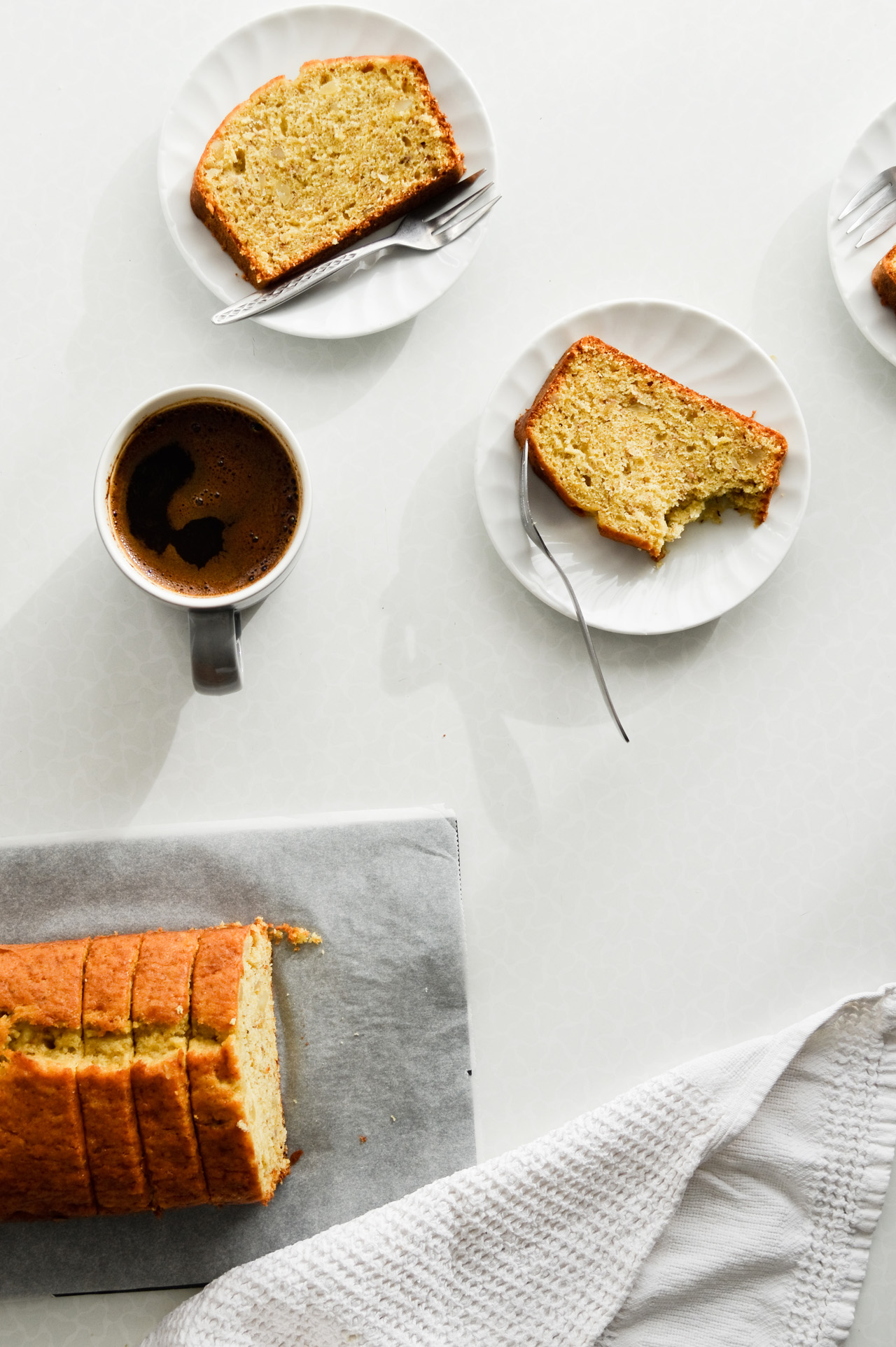 orange banana bread with rum