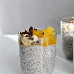 banana coconut chia pudding