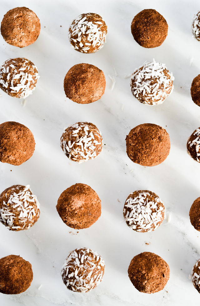 chocolate coconut rum balls - quick and easy dessert you can make ahead!