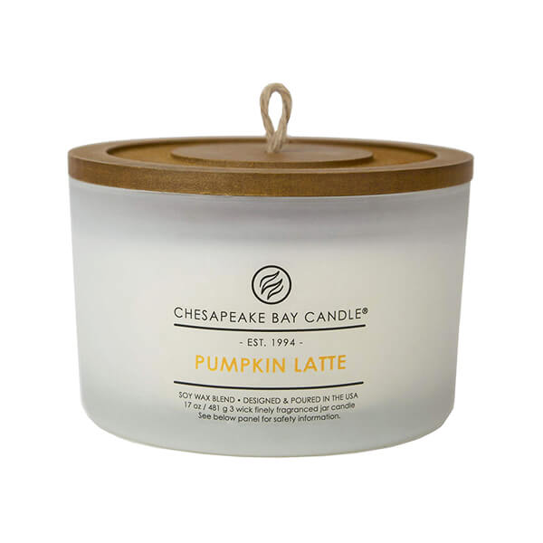 Pumpkin latte candle