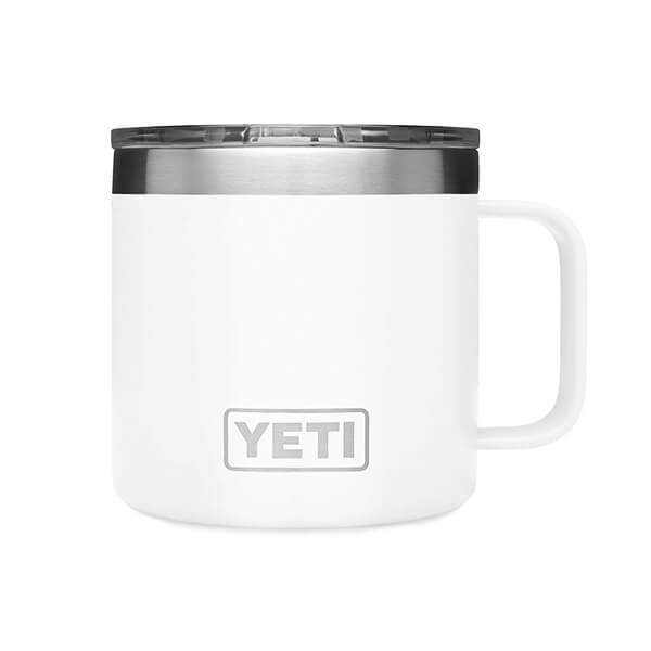 YETI stainless steel mug