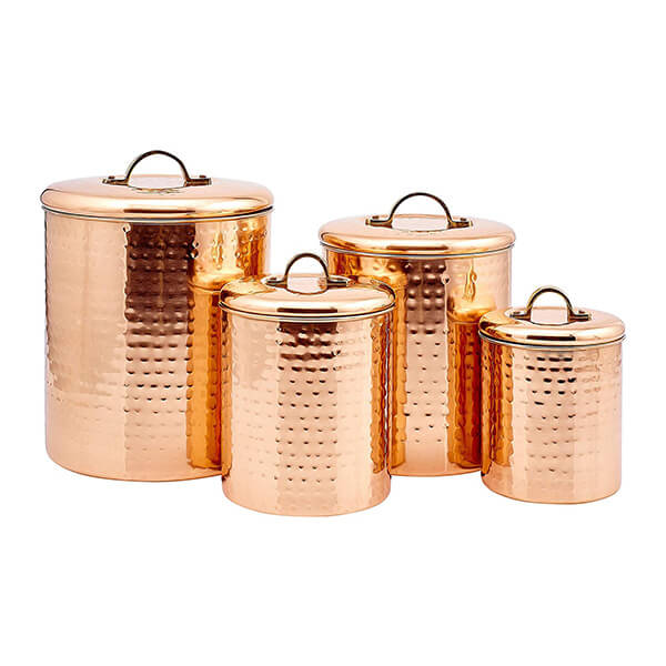 copper storage set
