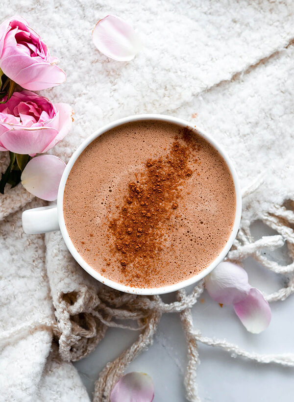 hot choc protein coffee